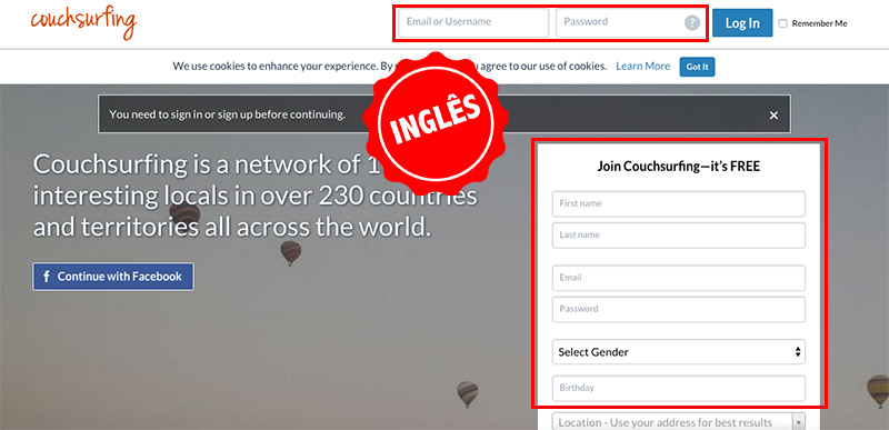 couchsurfing-ingles
